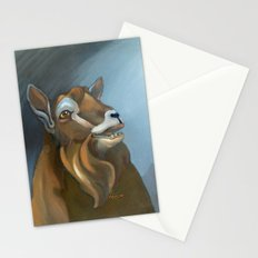 Cheeky Toggenburg! Stationery Cards