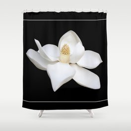 """Wake Up and Smell The Lilies"" Minimalisticly Limitless HOME DECOR from Good Flow Design Shower Curtain"