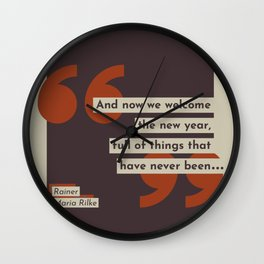 Things That Have Never Been Wall Clock