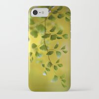 fern iPhone & iPod Cases featuring Fern by Mandy Disher