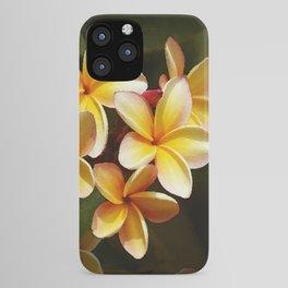 Elegant Simplicity is the Hawaiian Plumeria iPhone Case