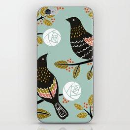 Winterbirds iPhone Skin