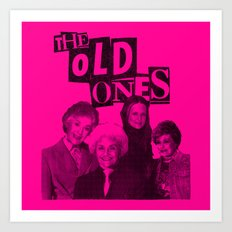 the Old ones Art Print