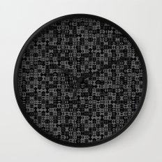 Arrows & Diamonds Wall Clock