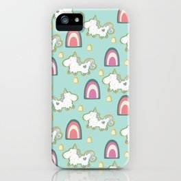 Cereal for Dinner - Unicorns iPhone Case