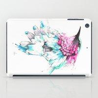 hummingbird iPad Cases featuring Hummingbird by Alexis Marcou