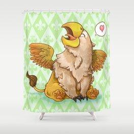 Baby Griffon Shower Curtain