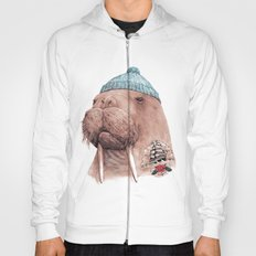 Tattooed Walrus Hoody