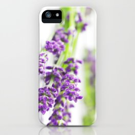 Lavender scent for your Home Design iPhone Case