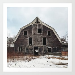 Support Groups for Children Allegedly Born in Barns Art Print