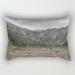 Avalanche Lake No. 1 - Glacier NP Rectangular Pillow
