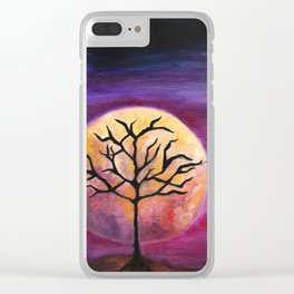 Constant Companion Clear iPhone Case