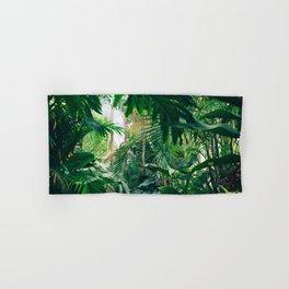 Greenery Jungle (Color) Hand & Bath Towel