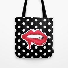 Bite My Lip Tote Bag