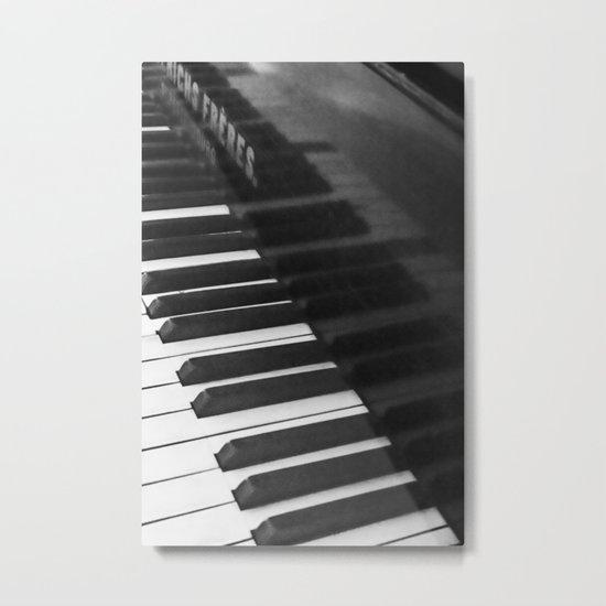 Old grand piano Metal Print