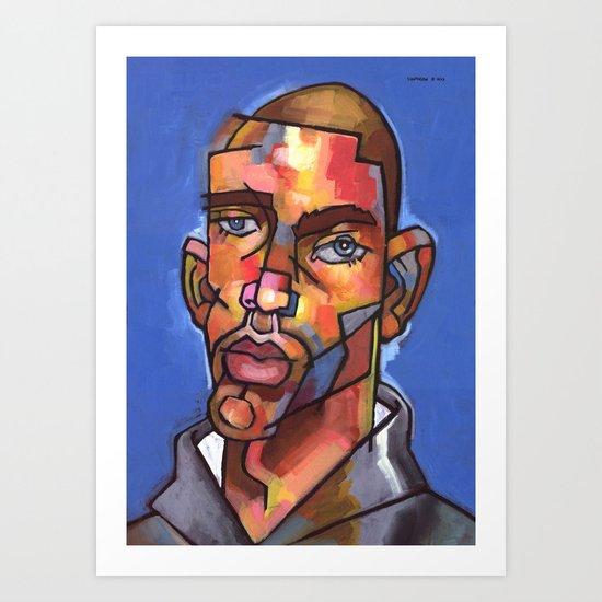 Channing Art Print
