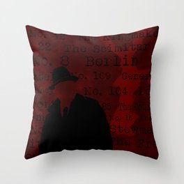 The List Throw Pillow