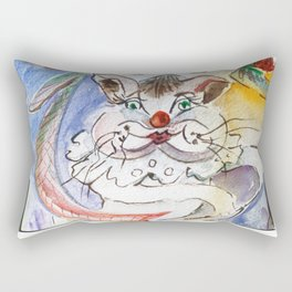 Pet Outing Rectangular Pillow