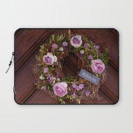 Welcome / Willkommen Laptop Sleeve
