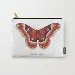 Tuliptree Silkmoth (Callosamia angulifera) Carry-All Pouch