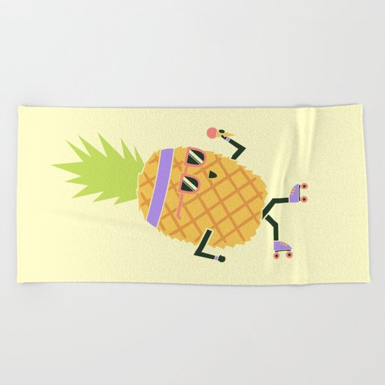 Summer Rollin Beach Towel