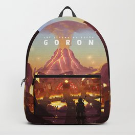 The Legend of Zelda A trip to Goron Backpack