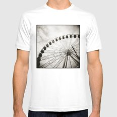 { ferris day out } Mens Fitted Tee White MEDIUM