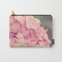 Pink Hydrandgeas Carry-All Pouch