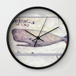 São Jorge Baleia (Whale) Wall Clock