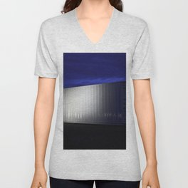 Containerized Server at the NASA Ames Research Center Unisex V-Neck
