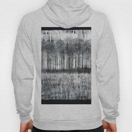 Black Winter Abstract Hoody