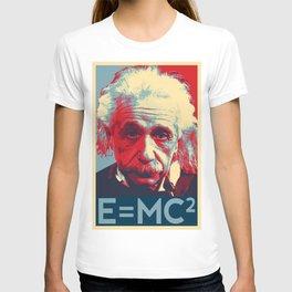 Albert Einstein E=MC²  T-shirt