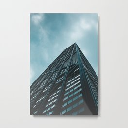Hancock skyscraper// CHICAGO Metal Print