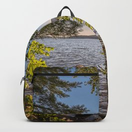Secret Place By The Lake Backpack