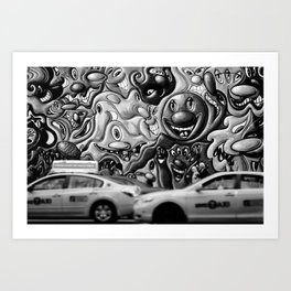 {watchers} Art Print