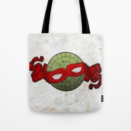 the red turtle Tote Bag