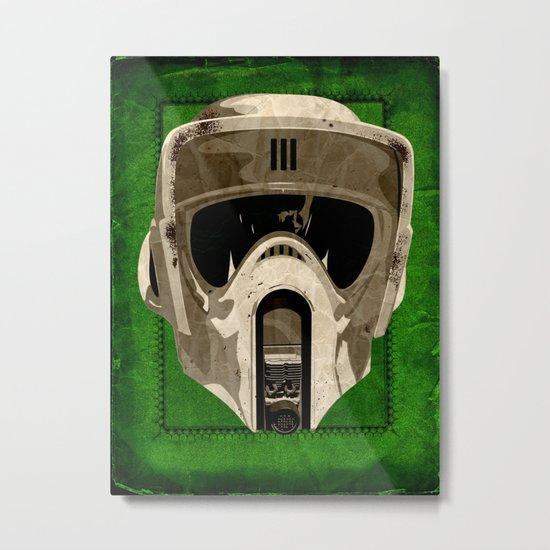 A Scout's Woodland Handbook Metal Print
