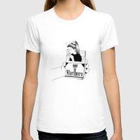 smoke T-shirts featuring Smoke by Henn Kim
