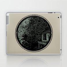 Miniature Circle Landscape 1: Morning Vision Laptop & iPad Skin