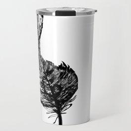 Treble Feather Travel Mug
