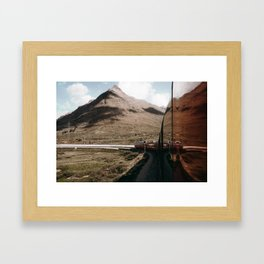 Bernina Express Framed Art Print
