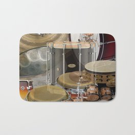 Percussion Instruments Bath Mat