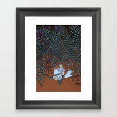 Into the Mild Framed Art Print