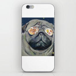 Dreaming of Hot Chicken Waffles and Beer iPhone Skin