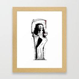 Breaking Framed Art Print