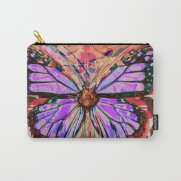 Stained Glass Butterflies Carry-All Pouch