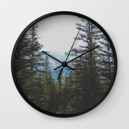 Mountainview Wall Clock