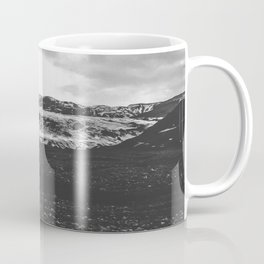 Ice giant - black and white landscape photography Coffee Mug