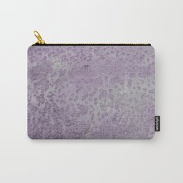Old wall texture in purple Carry-All Pouch