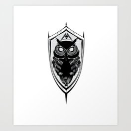 A.S.O. Art Print